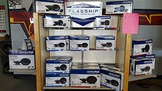 Alpine X-Series Speakers and Subwoofers available at Sounds Good To Me in Tempe, Arizona