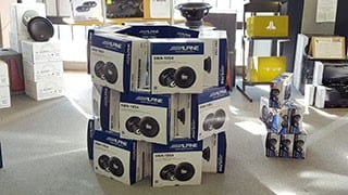 Subwoofer Sale: Alpine SWA-10S4 subwoofers on sale for $49.95 each in Tempe AZ near Phoenix Arizona at Sounds Good To Me. Buy 2 or more for $40.00 each. That's a steal!