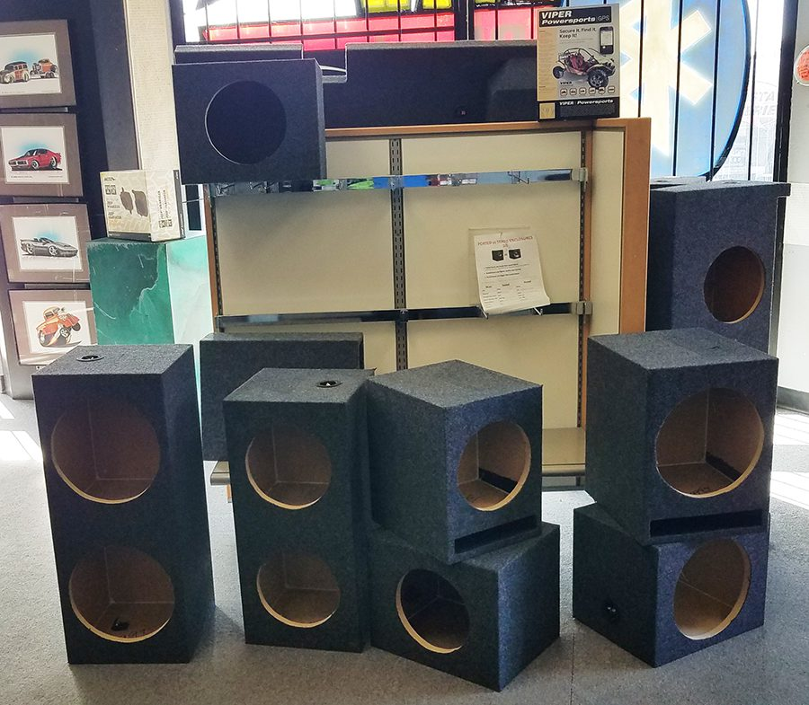 Ported and Sealed Subwoofer Enclosures at Sounds Good To Me Car Auto Electronics in Tempe, Arizona
