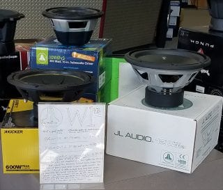Review of JL Audio W1 v3 subwoofers, available at Sounds Good To Me in Tempe, Arizona.