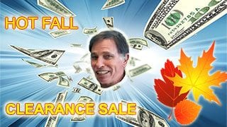 Hot Fall Clearance Sale at Sounds Good To Me in Tempe Arizona near Phoenix AZ