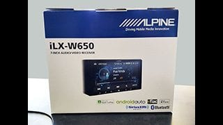 Alpine iLX-W650 receiver, available at Sounds Good To Me in Tempe, Arizona