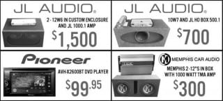 Unreal Consignment Deals on Car Audio Electronics this week at Sounds Good To Me in Tempe, Arizona
