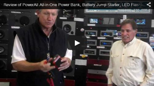 Review of PowerAll All-in-One Power Bank, Battery Jump Starter, LED Flashlight