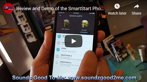 Sounds Good To Me review and demo of DEI Products SmartStart phone app by Direct Electronics for Python, Viper car alarms