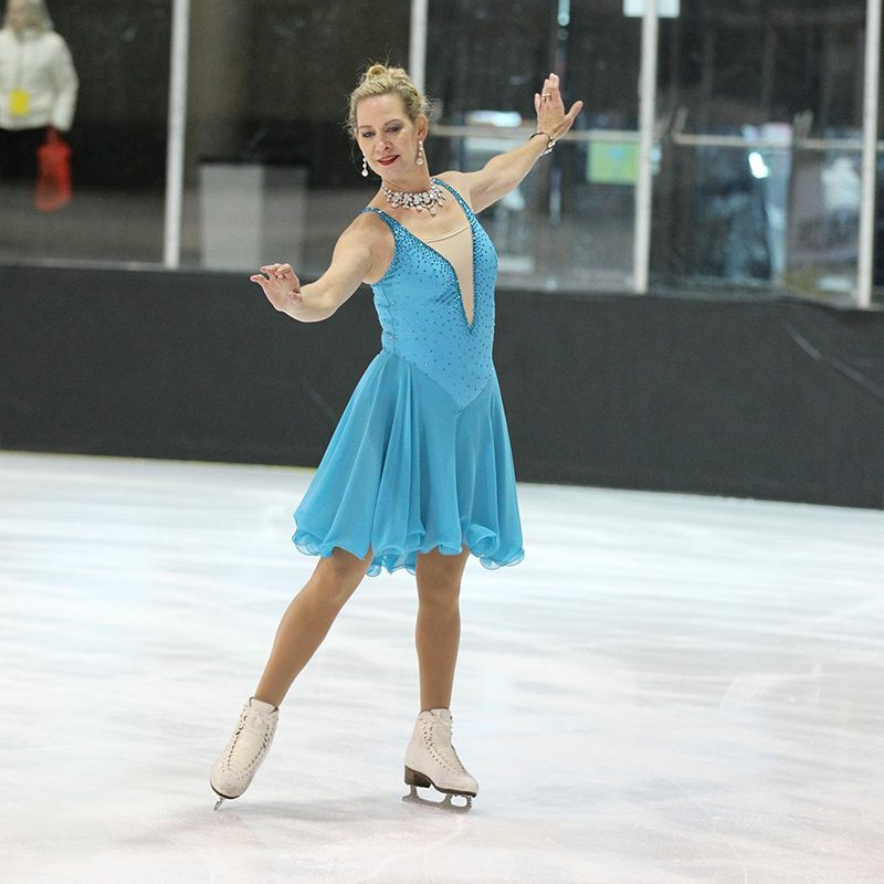 Marie Stroukoff - Coach at Valley of the Sun Adult Skate Camp in Chandler, Arizona