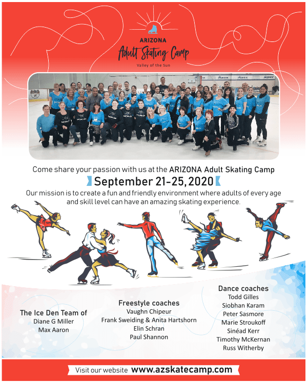 Valley of the Sun Adult Skating Camp 2020