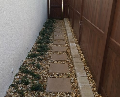 Landscape Edging Services for the Orlando, Florida Area by BLG Environmental Services