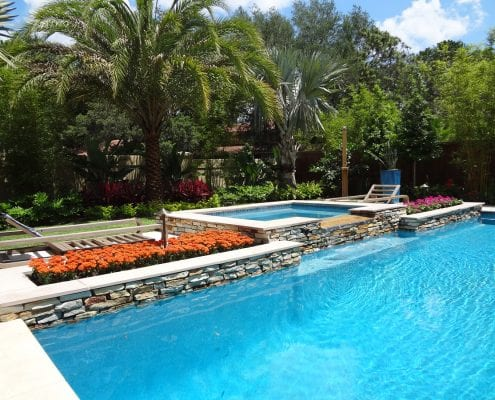 BLG Environmental Services - Pool Landscaping for the Orlando, Florida Area