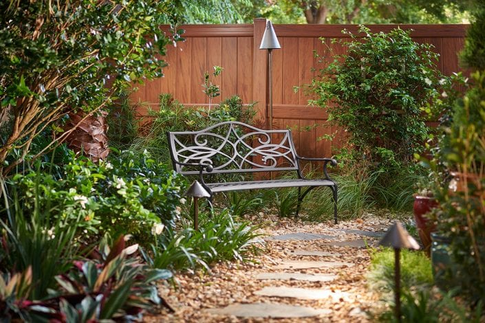 Garden Design in Orlando Florida for a Backyard Makeover by BLG Environmental Services