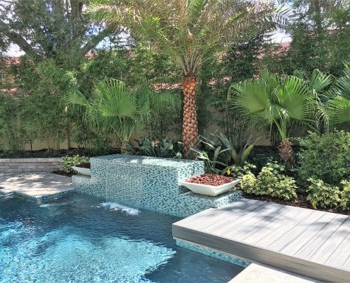 Pool Landscape Design in Orlando Florida by BLG Environmental Services