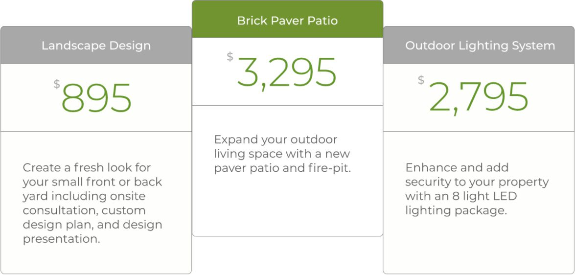 BLG Environmental Services - Outdoor Haven Packages