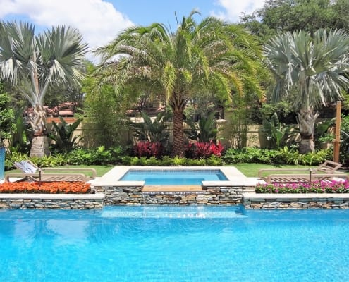 Pool Party by BLG Environmental Services Landscape Design Company in Orlando Florida