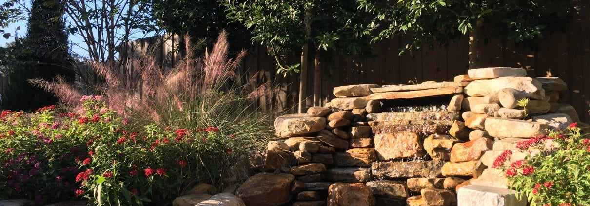 BLG Environmental Services - Waterfall and Landscape Design Project