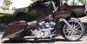 MRI Custom Bagger: Matt's 06 Road Glide