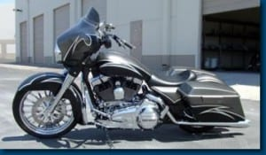 Style Glide - Featured Article in Hot Bike Baggers  March 2008