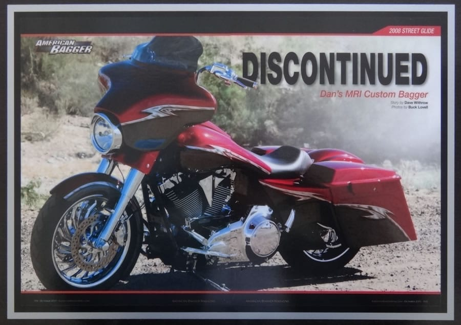 Discontinued - AMERICAN BAGGER Oct 2011