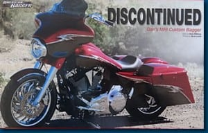 Discontinued - Featured Article in AMERICAN BAGGER Oct 2011