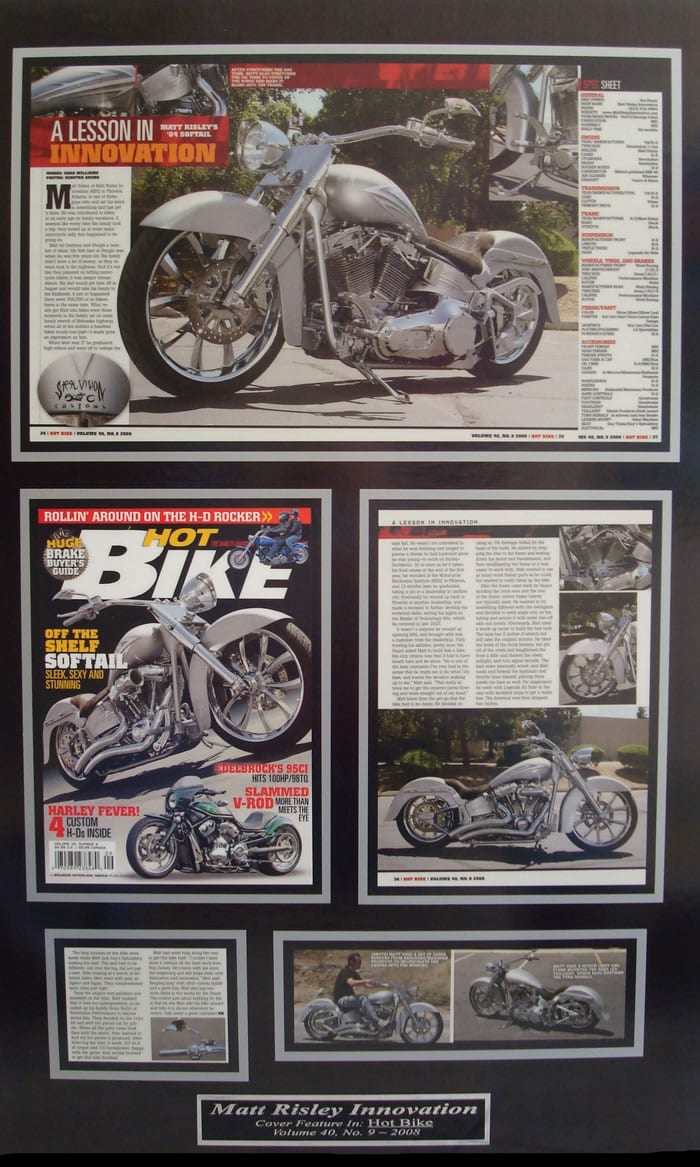 A Lesson In Innovation - Hot Bike Magazine Volume 9 2008