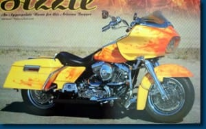 Sizzle - Featured Article in AMERICAN BAGGER July 2008