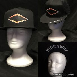 The Hideaway Grill - Cave Creek: Ghost Logo Baseball Cap - Black