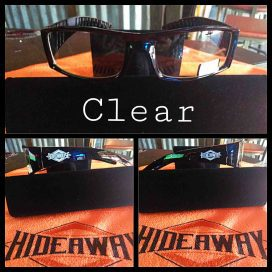 Roadhouse / Hideaway Glasses - Clear Lenses