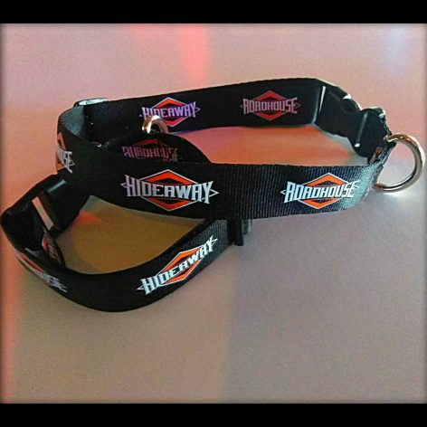 Roadhouse/Hideaway Dog Collar - Black