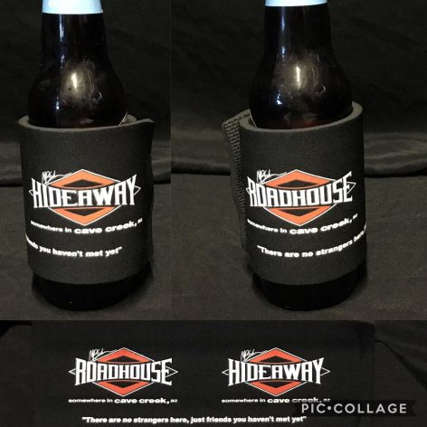 Roadhouse/Hideaway Beer Wrap Koozie