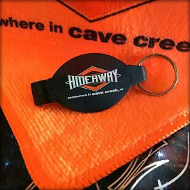 The Hideaway Grill - Cave Creek: Key Chain
