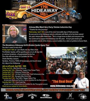 The Hideaway Grill Article