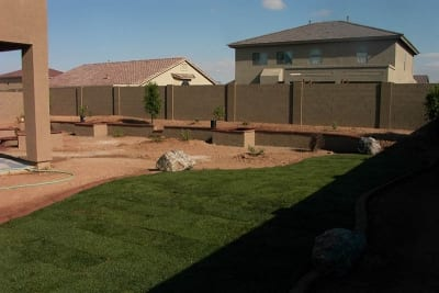 Sprinkler Installation at Southwest Lawn Sprinkling Specialists in Phoenix, Arizona
