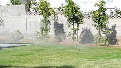 Sprinkler System Installation Service - Southwest Lawn Sprinkling Specialists in Phoenix, Arizona